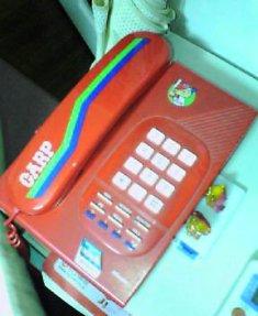カープ電話。