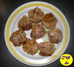 鶏ミンチとねぎの焼肉のたれ焼き