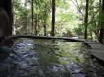 朝の露天風呂1