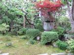 部屋前の庭