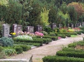 ドイツの墓地です