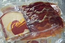 スペインの生ハムとチーズ