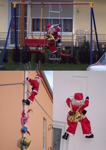 サンタさんがいっぱい