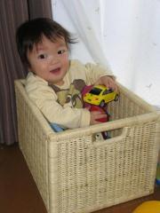 1歳1ヶ月になりまちた☆