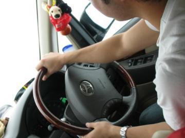 運転ドキドキ