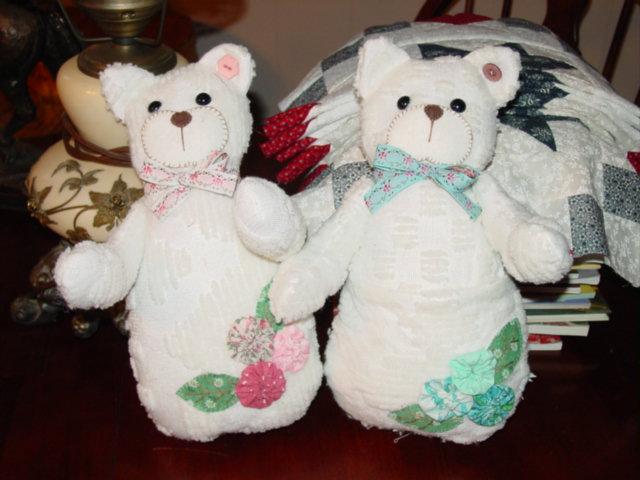 handmade bear 1