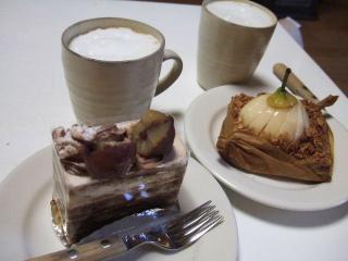 ドルチェヴィータのケーキはいつも美味しい