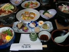 海茶屋・料理