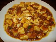 中華美食館・麻婆豆腐