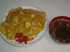 三金食堂・カツカレー