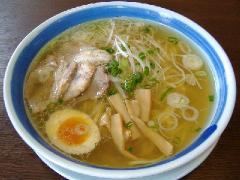 麺八長岡店・塩ラーメン