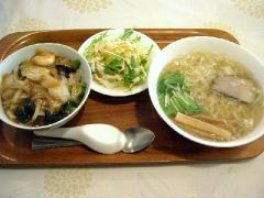 朱夏・中華丼とラーメンのセット
