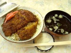 宇佐美食堂・ソースカツ丼