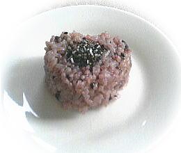 古代米のおにぎり