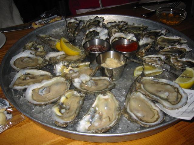 ワシントンの生牡蠣