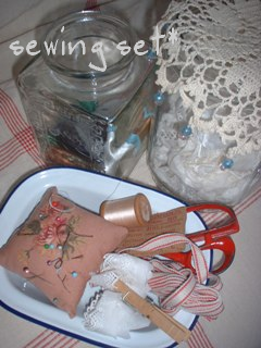 sewing set*