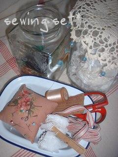 sewing set*
