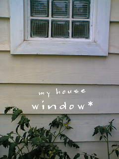 ブロックの窓*