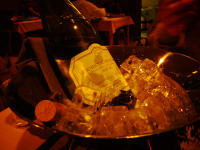 白ワインです