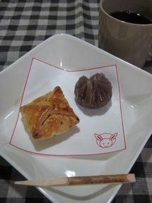 和菓子と珈琲