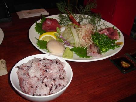 刺身&ご飯