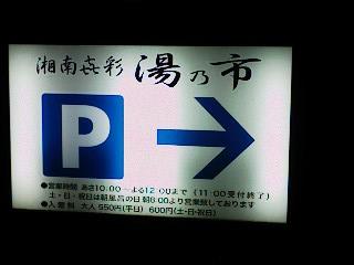 湯の位置P