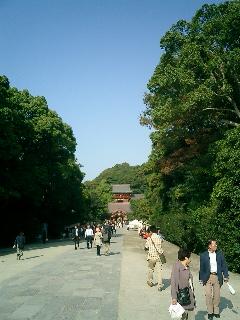 鎌倉 八幡宮 正面
