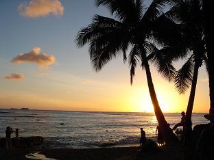 HAWAI サンセット