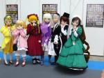 東京アニメフェア2006・きぐるみ薔薇乙女7姉妹全員集合写真