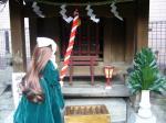 翠姫の初詣