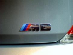 BMW【M6 エンブレム】