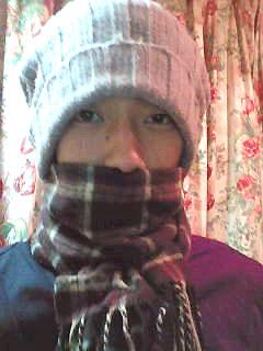 冬のコンビニへ