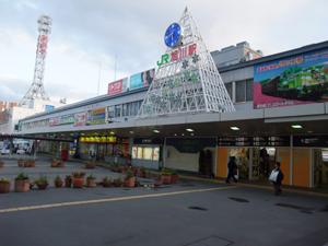旭川駅です。