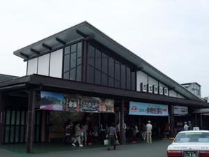 西武秩父駅。