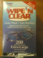Wipe'N Clear
