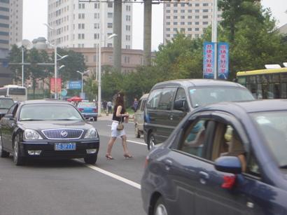 中国式道路横断法