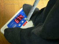 海苔雄の身体検査。ちょっと太め!?海苔雄はちょっと熊本海苔の食べすぎじゃない