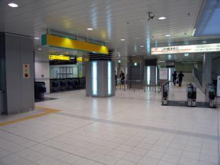 あおなみ線・名古屋駅の改札口