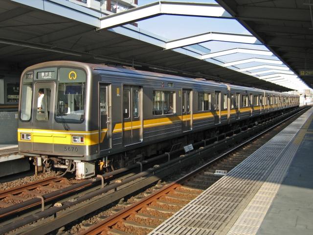 名古屋市営地下鉄5050形 本郷にて
