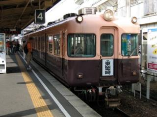 名鉄5500系 岩倉にて