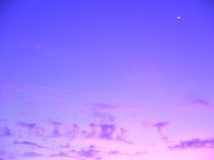 朝焼けの月・convert_20081026222559