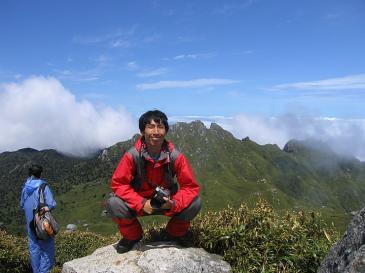 屋久島 宮ノ浦岳頂上
