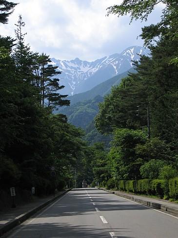 駒ヶ根 駒ケ岳に続く道