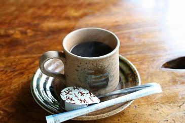大平街道 峠の茶屋のコーヒー