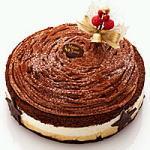 【マウント・ショコラ】マロンとチョコのクリスマスケーキ