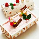 【いちごのノエル】卵を使わないクリスマスケーキ