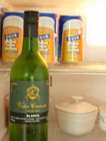 冷蔵庫の中のお酒