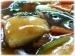 チンゲンサイ酢3