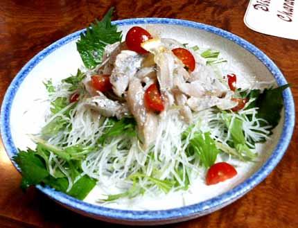 太刀魚サラダ12
