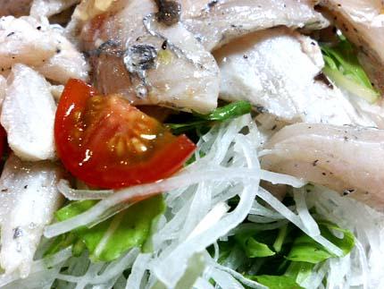 太刀魚サラダ16